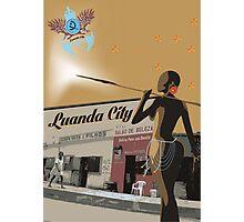 Angola - Salao de beleza Africa Photographic Print