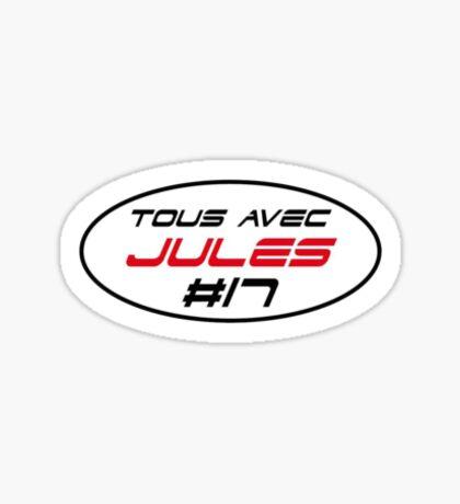 Tous Avec Jules #17 Biachi Stickers Sticker