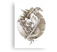 Gods & Monsters Canvas Print