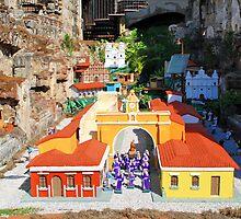 Pequeña Ciudad dentro de Ruinas by magdielveliz