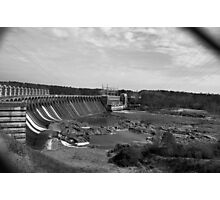Jordan Dam  Photographic Print