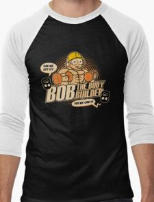 Bob the Bodybuilder Men's Baseball ¾ T-Shirt