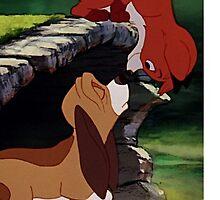 The Fox and the Hound Phone Case by MC3Matt