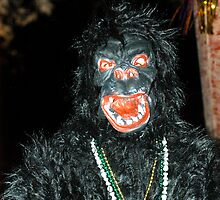 Going Ape at Mardi Gras by Bill Gamblin