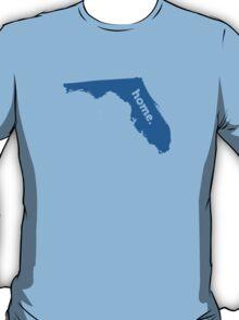 Florida Home Blue T-Shirt