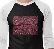 Poppy Flower Men's Baseball ¾ T-Shirt