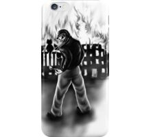 Just to watch it burn iPhone Case/Skin