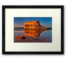 """Reflections at Little Rock"" Framed Print"