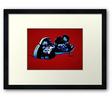DC Shoes Framed Print