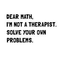 Dear Math by AmazingMart