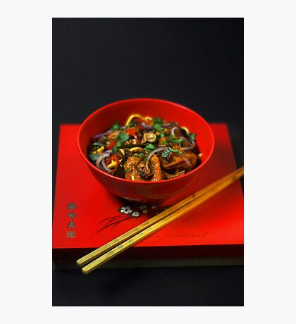 Chinese Meal  Photographic Print