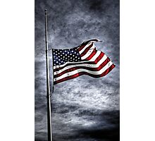 """Half Staff""    Stars and Stripes Series.. Photographic Print"