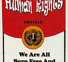 HUMAN RIGHTS ART - UDHR ARTICLE 1 by humanrights