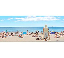 Stuck at Coogee Beach Photographic Print