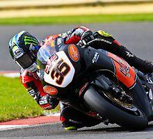 Cal Cruchlow no 35, HM Plant Honda, British Superbikes, Croft Circuit, 2008 by RHarbron
