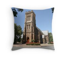 """""""Church of St George"""" Throw Pillow"""