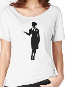 Stewardess airline Women's Relaxed Fit T-Shirt