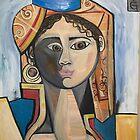 GIRL IN A TURKISH COSTUME by WILLIAM DAVID GARRETT