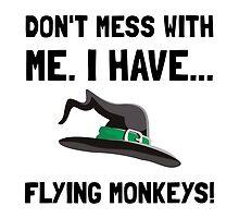Flying Monkeys by AmazingMart