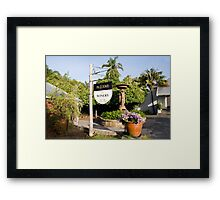 Conti's Winery.... Framed Print