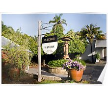 Conti's Winery.... Poster