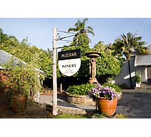 Conti's Winery.... Photographic Print