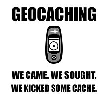 Geocaching Kicked Cache by AmazingMart
