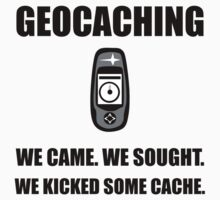 Geocaching Kicked Cache Kids Clothes