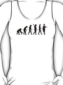 Evolution Stewardess T-Shirt