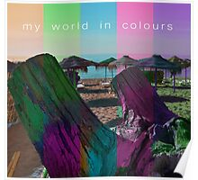 My world in colours Poster