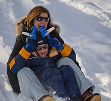 Fun in the Snow by Jeanne Frasse