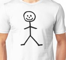 Stickman man Unisex T-Shirt