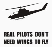 Helicopter Pilot Wings Kids Clothes