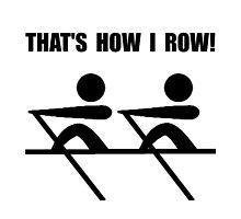 How I Row by AmazingMart