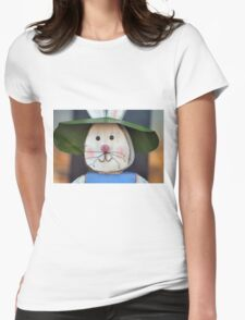 Rustic Easter Womens Fitted T-Shirt