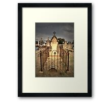 Murringo Cemetery Framed Print