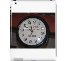 Clock. iPad Case/Skin