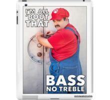 SexyMario MEME - All About That Bass iPad Case/Skin