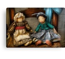 Dolls Americana Canvas Print
