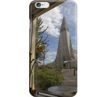 Church through a Window iPhone Case/Skin