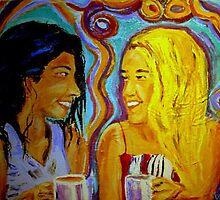 Just Chatting by gillsart