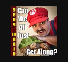 SexyMario MEME - Can We All Just Get Along? Unisex T-Shirt