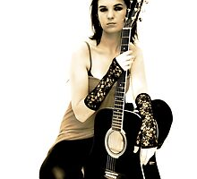 Guitar Girl by Cindy Coverly