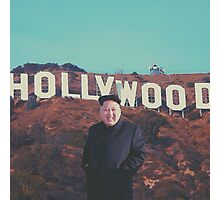 Kim comes to Hollywood Photographic Print