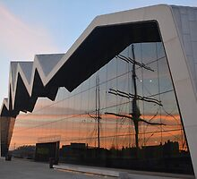 Sunset on the Clyde 1 by MBradders