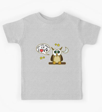 Owl you need is love! Kids Clothes