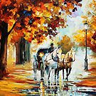 Fall Journey — Buy Now Link - www.etsy.com/listing/227867989 by Leonid  Afremov