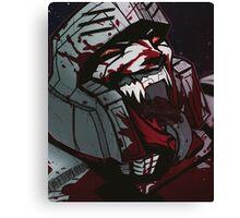 Megatron RRrrrrage Canvas Print