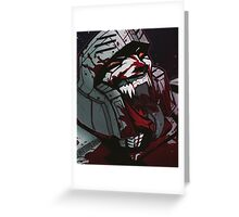 Megatron RRrrrrage Greeting Card