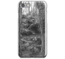 Camels Hump - black and white  iPhone Case/Skin